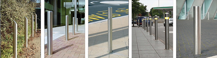 Collapsible Parking Bollards