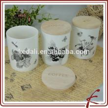 Vente en gros de porcelaine durable colorée étanche pour la maison