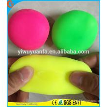 Juguetes coloridos vendedores calientes de la bola de la tensión del estiramiento para los cabritos