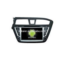 Viererkabel-Kernauto-DVD-Spieler mit gps, wifi, BT, Spiegelverbindung, DVR, SWC für Hyundai I20