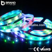 CE ROHS indoor useing SMD5050 7.2w/M RGB led strip light, led decoration light, led christmas light