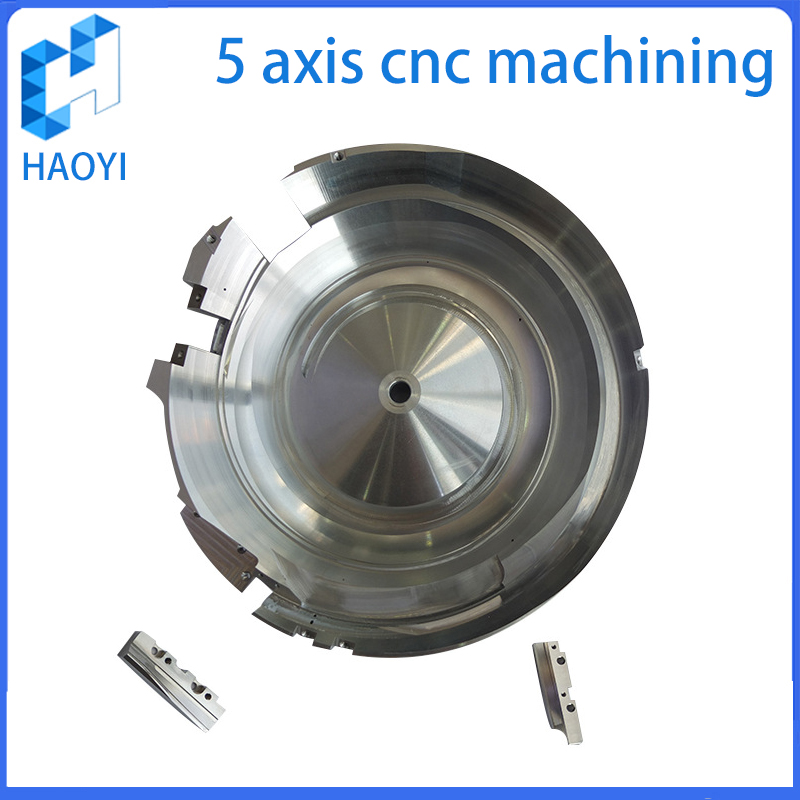 Customized 5 Axis machined prodcuts Services