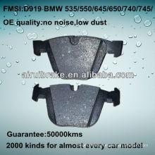 D919 OE QUALITY brake pad for BMW CAR