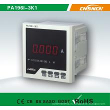 Dm96-Iframe Размер 72 * 72mm Фабричная цена Однофазный светодиодный дисплей AC Digital Ampere Meter, для промышленного использования