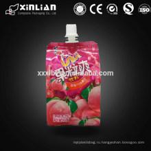 Пластмассовый стоячий мешок с мешком для носа с крышкой / продуктовым мешком с винтовой крышкой