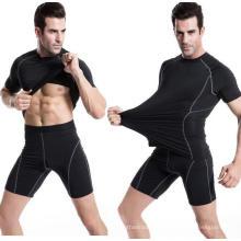 Fitness Ropa Correr Entrenamiento Senderismo Hombres Deportes Camiseta