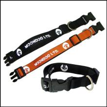 Logo imprimé personnalisé Polyester / Nylon Pet / Cat / Dog Leash pour chiens