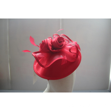 NEW-Women's Satin Church Fascinators Hüte --YJ85