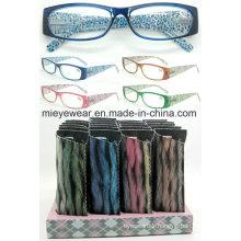 Ladies Fashion Plastic Reading Glasses (MRP21679)