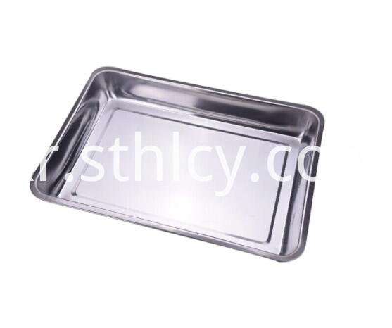 Stainless Steel Serving Tray Set