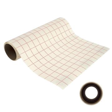 Grid-Printed Transfer Tape On A Liner