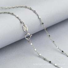 2018 moda 925 colar de corrente de jóias de prata esterlina