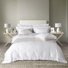 2017 Nuevo diseño de satén hotel living 5 estrellas ropa de cama de lujo / ropa de cama larga de algodón
