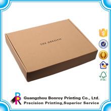 Высокое качество отпечатано обычай коробки гофрированной бумаги