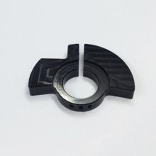 Servicio de piezas de aluminio anodizado negro personalizado