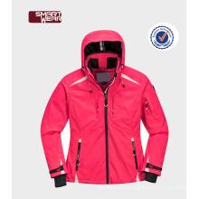 Горячий saling капюшоном одежда высокого качества катание на лыжах куртка и брюки