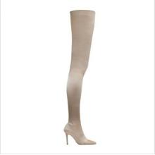 Thigh High Heels Ladies Heel Boots Stilettos Sexys Thigh Boots Women Heels Stiletto Red Boots for Women