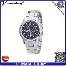 Yxl-328 Hottest Multiple Time Zone Brand Stainless Steel Chronograph Clock Hand Business Mens Wrist Watch