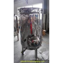 500L de aço inoxidável isolar Mash Tun com fundo falso