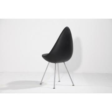 Design danois rembourré Arne Jacobsen Drop Chair Replica