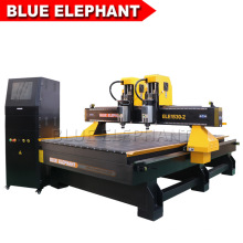 1530 CNC Router Machine Wood Carving with Independent Double Head Spindles by Computer Control