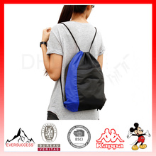 Hot Sell Polyester Drawstring Backpack Tote Drawstring Bag