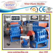 Máquina de trituración automática completa reciclada de alta calidad PE / PVC