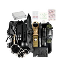 2020 New 35 in 1 Emergency Survival Gear Kit, Cool Gadget Stocking Stuffer, Emergency Camping Gear for Hiking Hunting