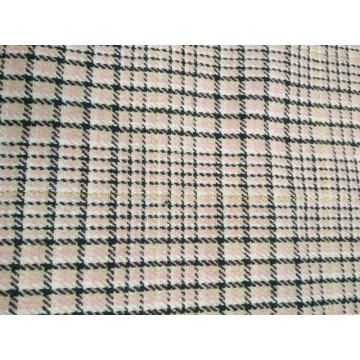 LUREX CHECK BEAUTIFUL DOBBY FABRIC