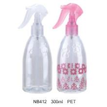 Kunststoff-Trigger-Sprayer Runde Flasche für Kosmetik (NB412)