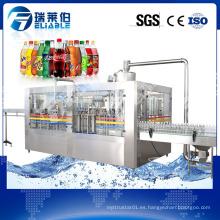 Máquina de embotellado automático de bebidas carbonatadas completa