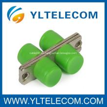 FC - Adaptador de fibra óptica de manga APC, adaptadores de conector de fibra óptica