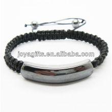 camber hematite woven bracelet 95B0312-101