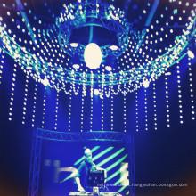 LED RGB 3d pixel ball luz de la noche