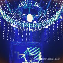 LED RGB 3d pixel ball night light
