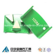 HTC Diamond Betonboden Schleifen Segment mit 3 Segmenten