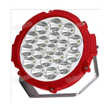 """12V 8 """"90W CREE LED del proyector del camino"""