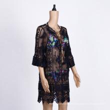 Badebekleidung Damen Long Beach Wear Kleid