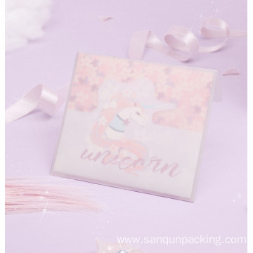 Fancy unicorn greeting cards