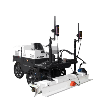 Ride-on Type Laser Screed Machine