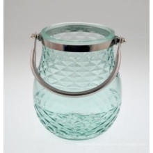 New Design Glass Candle Holder for 2016 Spring