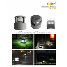 luces de jardín solares de alto lumen, luz solar road, luces accionado solar de la puerta