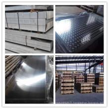 Tôle d'aluminium 5083 pour wagon-citerne