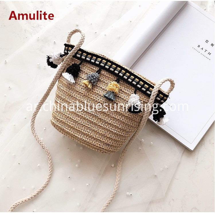 Straw Bags Shoulder Bags