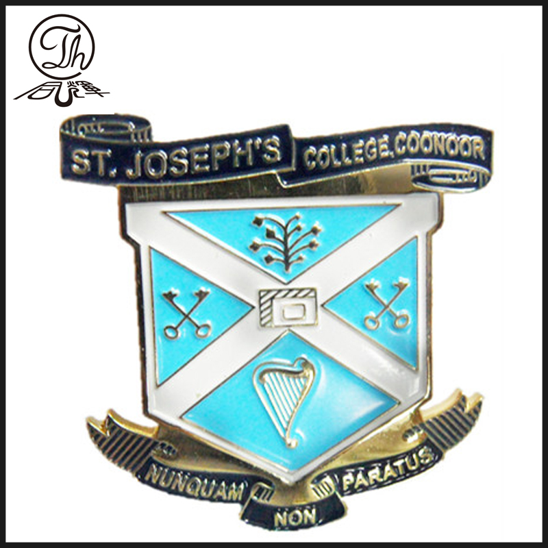 Iron School Badge