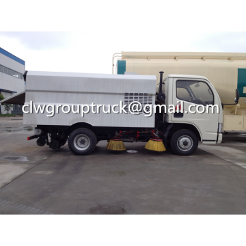Dongfeng Xiaobawang 5.5CBM Balayeuse Camion Route Sous Vide