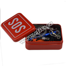 2016 new emergency outdoor portable SOS survival kits for camping survival equipment