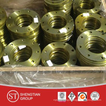 Yellow Flange Pipe Fittngs