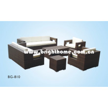 Outdoor Sofa Set PE Rattan Wicker Bg-810