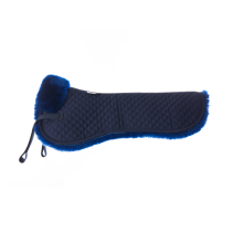 High Quality Quilt Sheepskin Half Saddle Pad